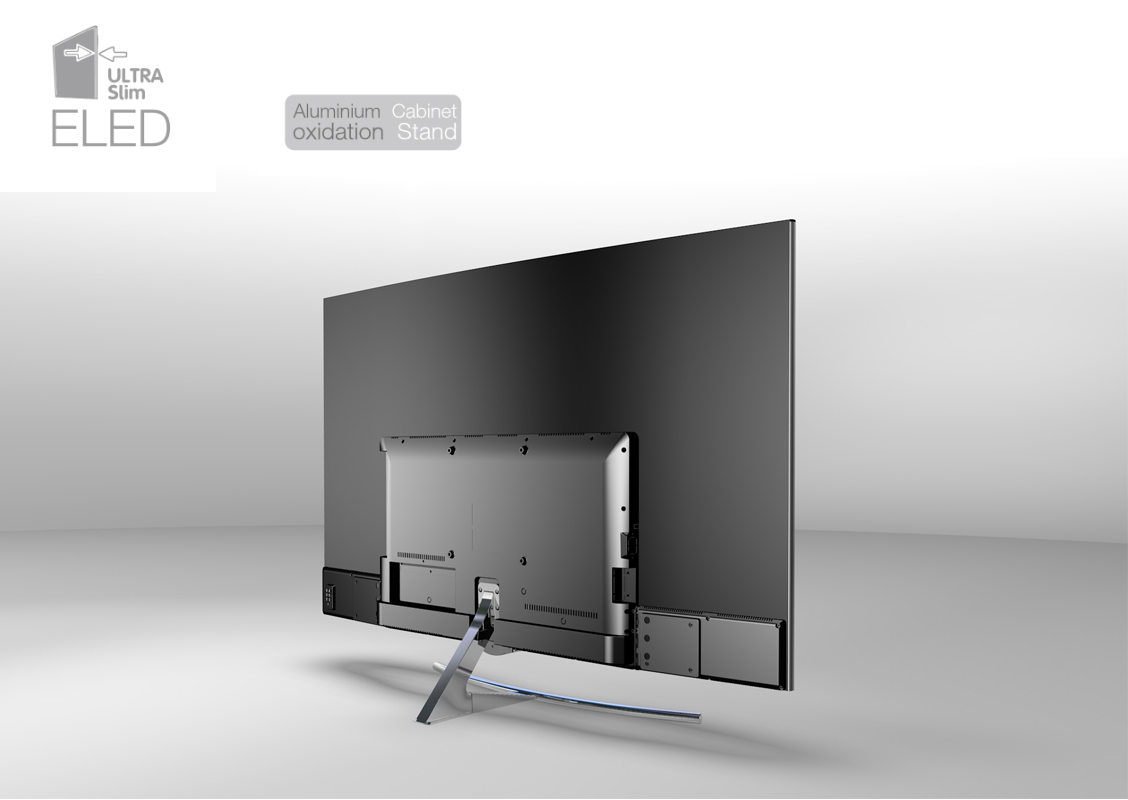 LCD curved TV 65inch