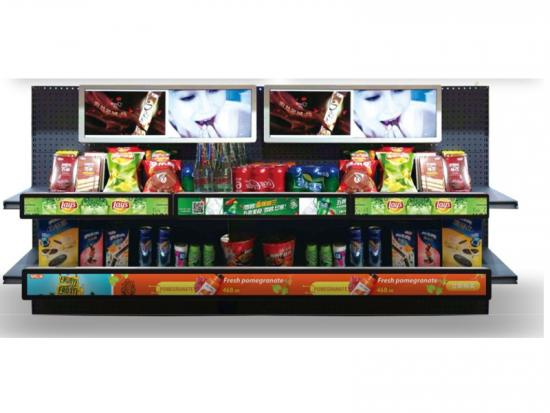 35 inch Stretched LCD Display For Shelf Retail Digital Signage
