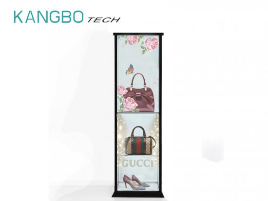 LCD Transparent Screen Show Cabinet