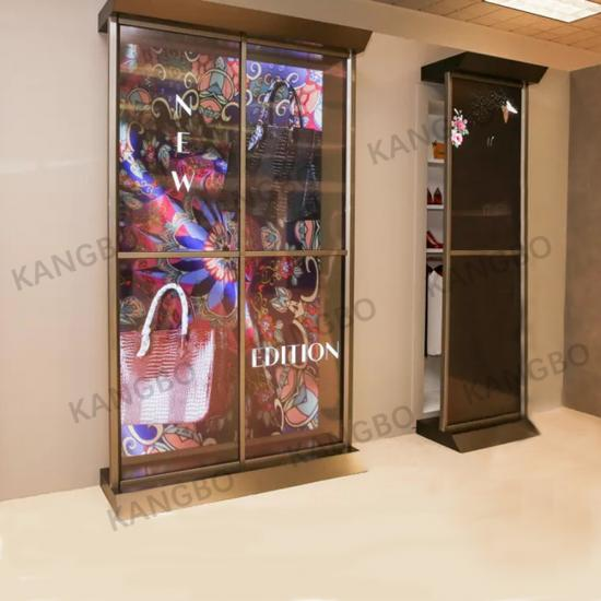 55 INCH Transparent OLED Video Wall 55