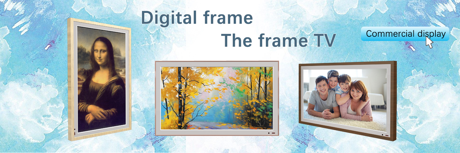 digital frame the frame tv