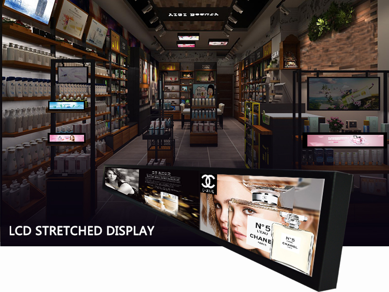 AI Intelligent Stretched Display Digital Signage